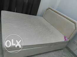 King size Bed with Matress and Bed Base