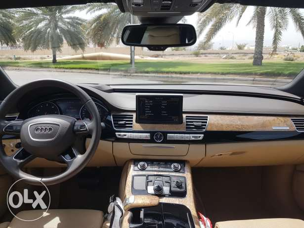 Audi A8 L 2015 very clean from first owner .. no accidents ..