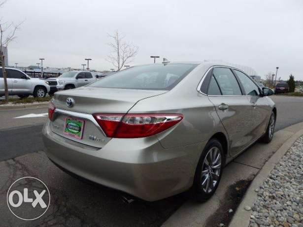 Certified 2016 Toyota Camry Hybrid XLE