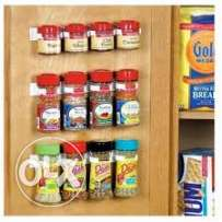 clip n store hanging organizer- 4 layers