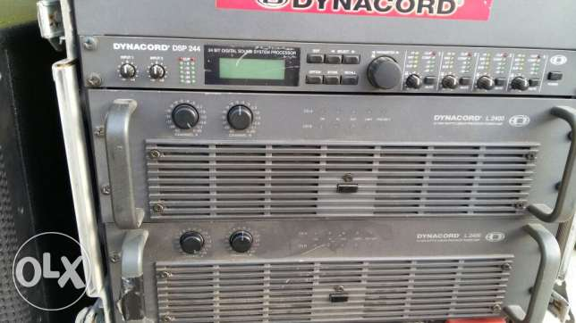 Power amp and sound prosecer1
