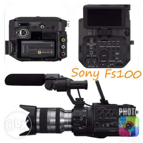 Sony NEX-FS100 Super 35 Camcorder with 18-200mm Lens