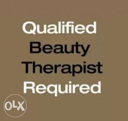 Female beautician urgently required a qulffied and experienced indian
