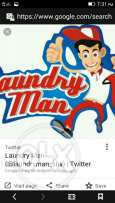Laundry man require