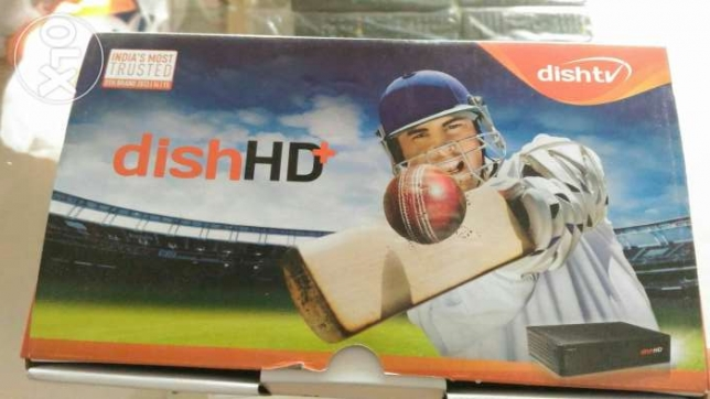 dishtv HD+ with one month subscription