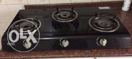 ikon automatic ignition glass top gas stove