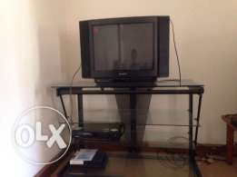TV table and TV