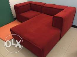 BoConcept Red Couch