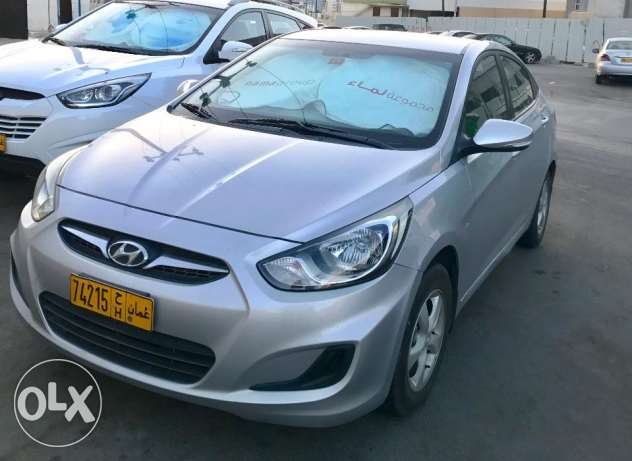 Hyundai Accent 1.6L 2012 model Expat single owner low milage مسقط -  1