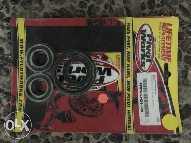 Honda CRF450X Front Wheel Bearings