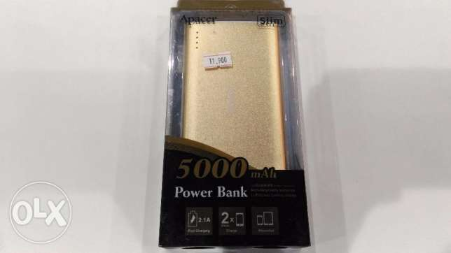 Powerbank Apacer slim 5000 mah