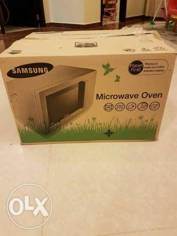 Not Used Samsung Microwave Owen