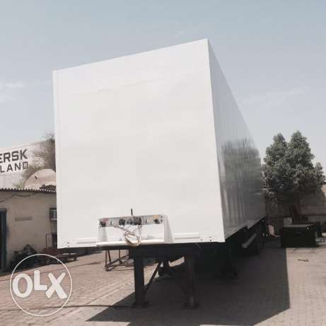 box trailers for sale مقطورات مربع