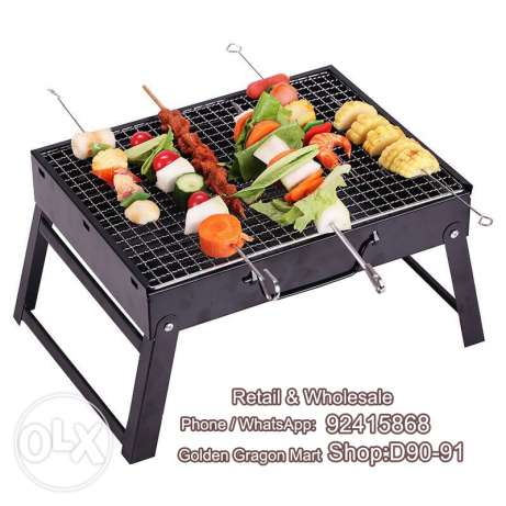 Barbecue floding grill for picnic outdoor activities family party