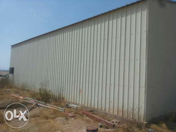 Used steel shed