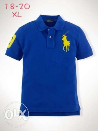 Original NEW Polo Ralph Lauren shirts size small 18-20 years - new