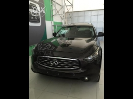 infiniti FX50 S 2009 dark brown color for sale