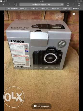 Canon EOS 5D 12.8MP Digital SLR Camera (body only)