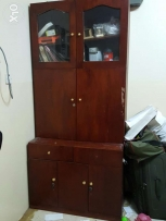 Expat leaving oman 2 days Wooden cupboard excellent conditon