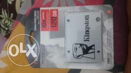 Kingston 120 GB SSD Brand new with one year warranty alkhwair 22ROonly