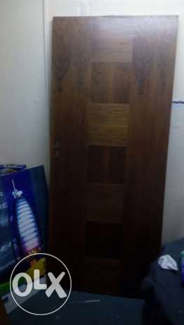 New heavy duty wooden doors