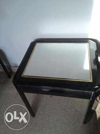 centre table with 2 side table مسقط -  2