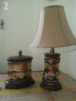 Decorative items.