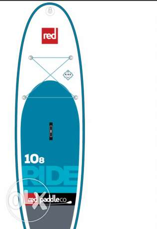 red paddle co stand up inflatable paddle board (sup) 10.8