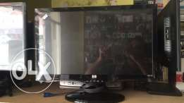 """used led monitor for sale with warranty 20""""led only 24 rials"""