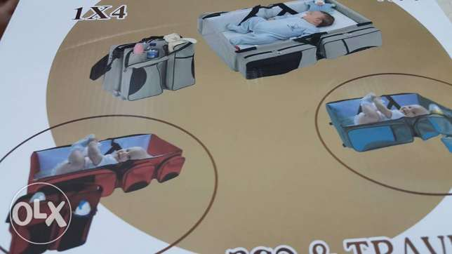 neonates travel bed and bag-2 in 1 مسقط -  4