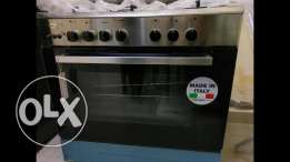 Brand New GLEMGAS Made in Italy 5 burners Full Safety Cooking range
