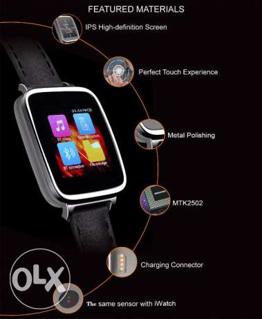 OUKITEL A28 Smart Watch for iOS Android - SILVER مسقط -  1