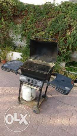 BBQ Grill with Cylinder