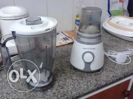 Black & Decker Mixie and Water can & Dispenser for sale