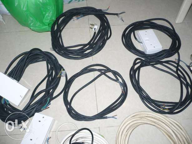 High Quality Electrical Cables – For events and shows مسقط -  2