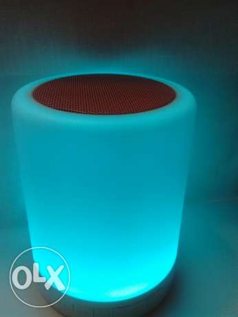 Touch lamp bluetooth speaker السيب -  2