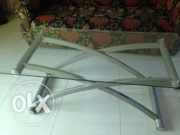 Tempered glass table 35 OMR AND swing 10 OMR