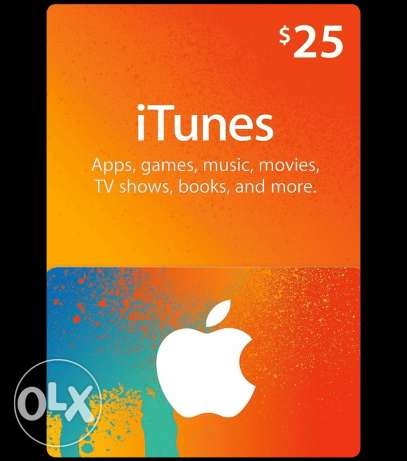 itunes cards for sale مسقط -  1