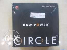 مزود طاقة PSU RAW CIRCLE 1000 watt gold