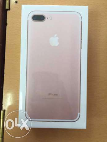 Apple Iphone7 Plus -256GB- 1 year warranty - box not opened