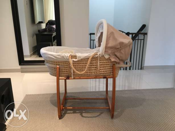 Moses basket mamas and papas مسقط -  2