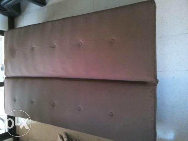 Brown Sofabed 30 Omr for sale مسقط -  3