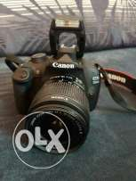 Canon 1200D with 18-55