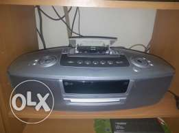 LG 3 in one...Dvd radio Cassete Player