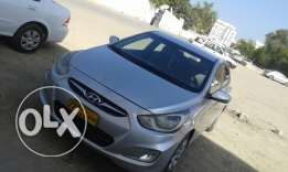 Hyundai Accent 2012 Automatic in very Good condition.