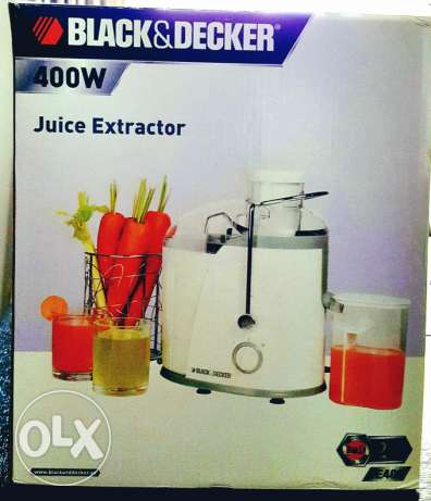 Juice extractor Black & Decker