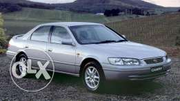 Camry 99 for sale new accident free