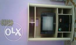 T V and Wood Stand Available