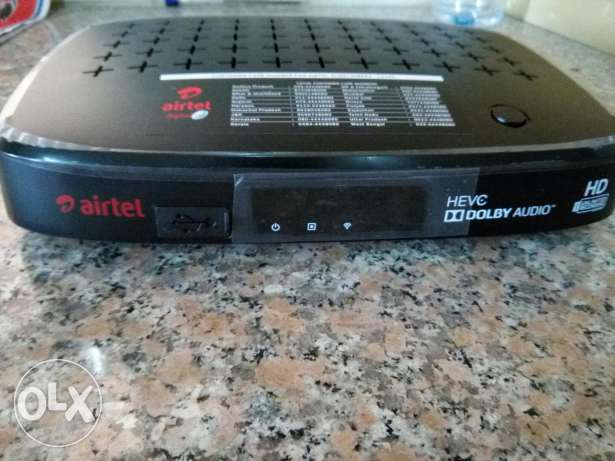 Airtel dth South Platinum 6 month free India receiver HD full pak