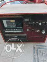 Amplifier recorder with mixer casit audio recording with external spea